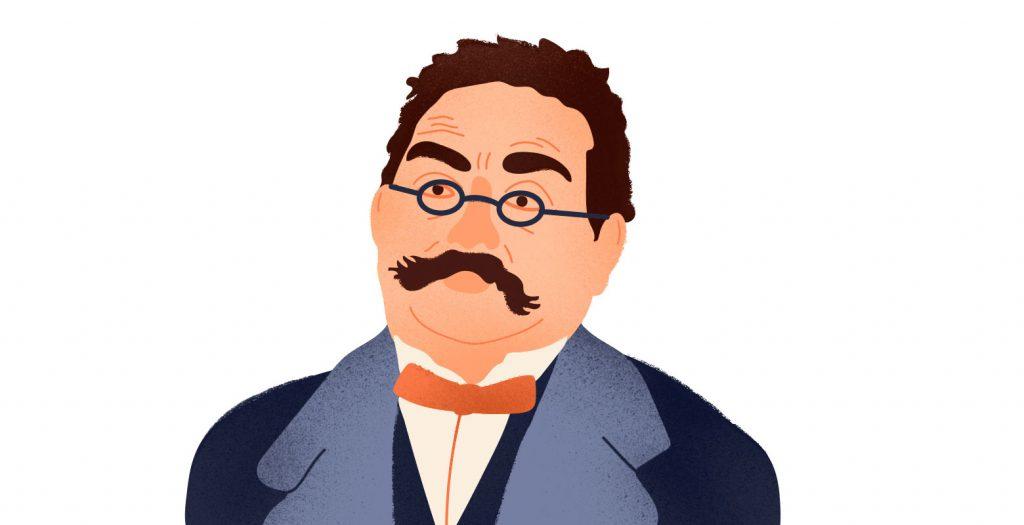 Профессор дерматологии — Фердинанд фон Хебра